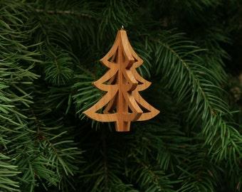 Christmas Tree 3-D Christmas Ornament