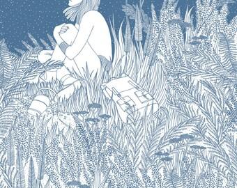 Heather - Limited Edition Silk Screen Print