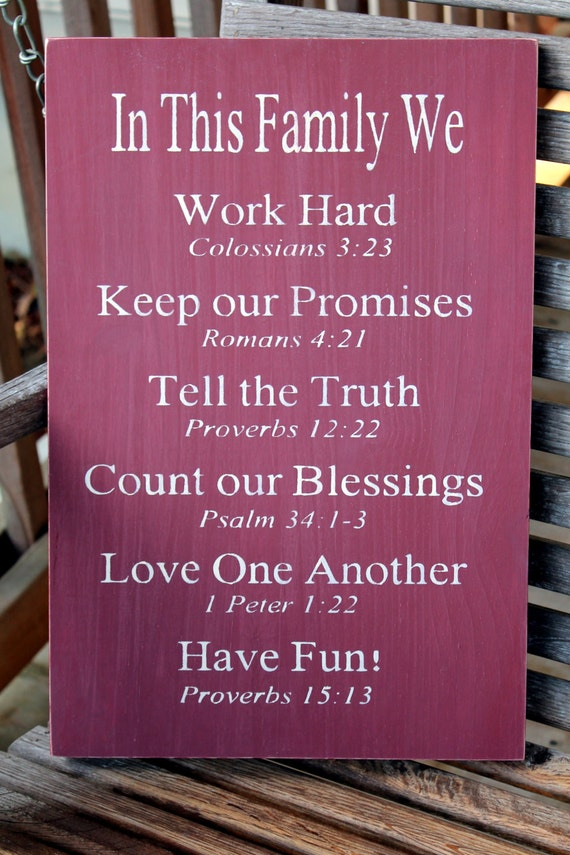 Quotes For Teenagers Room Christian Family Rules...