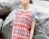 Flamingo print t-shirt inspired in Chilean animals