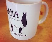 Lucky Llama Logo Mug