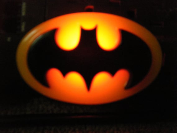 1964 Resin Batman Bat Signal Night Light