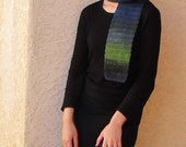 Multicolor Scarf - Choose Blue and Green or Red and Mauve - Medusa or Medea