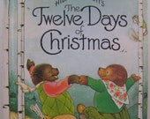 The Twelve Days of Christmas, vintage children's book