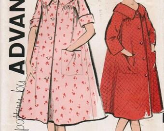 1960s Advance 9617 UNCUT Vintage Sewing Pattern Misses Robe Size 12 Bust 32