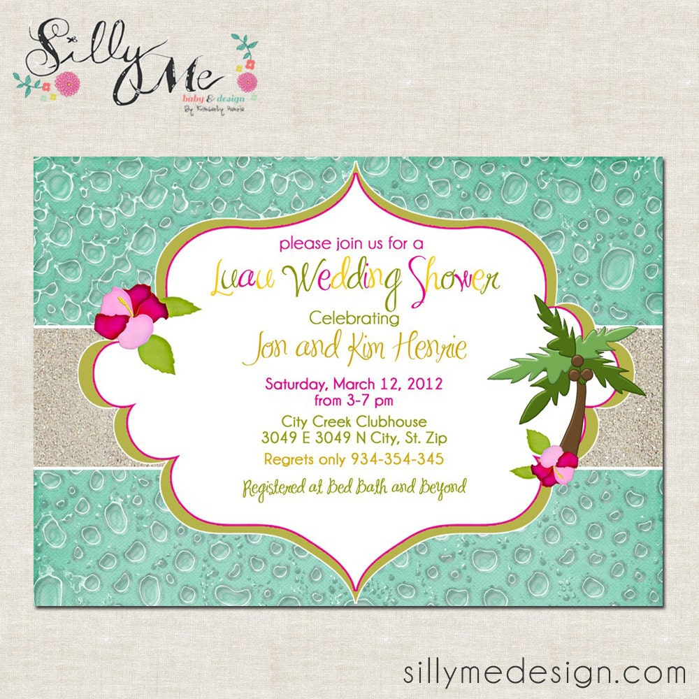 Luau Baby Shower Invitations – gangcraft.net