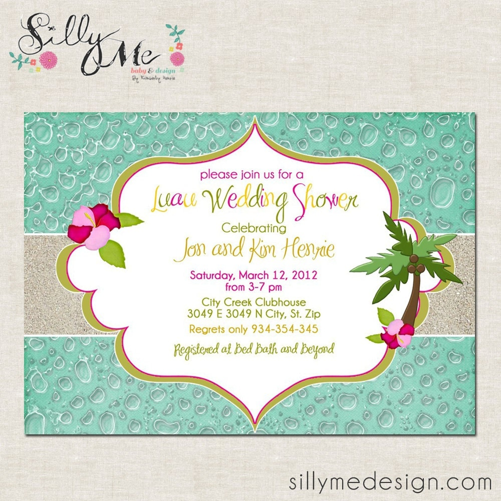 Hawaiian Themed Invitations was great invitation example