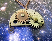 Moving Gears Necklace on Reserve