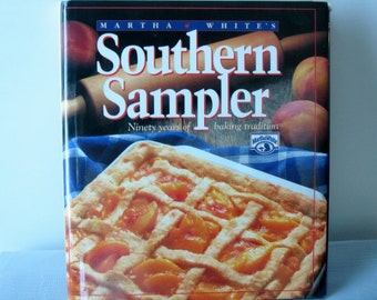 80s Vintage cookbook/Martha White's Southern Sampler Ninety Years of Baking Traditions/ Cookbook