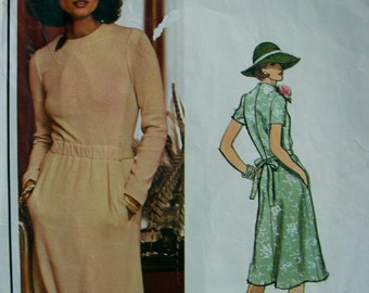Vogue Paris Original Pattern 1188 - Christian Dior  - UNCUT - size 16 -  BEAUTIFUL Dress & Vogue Label