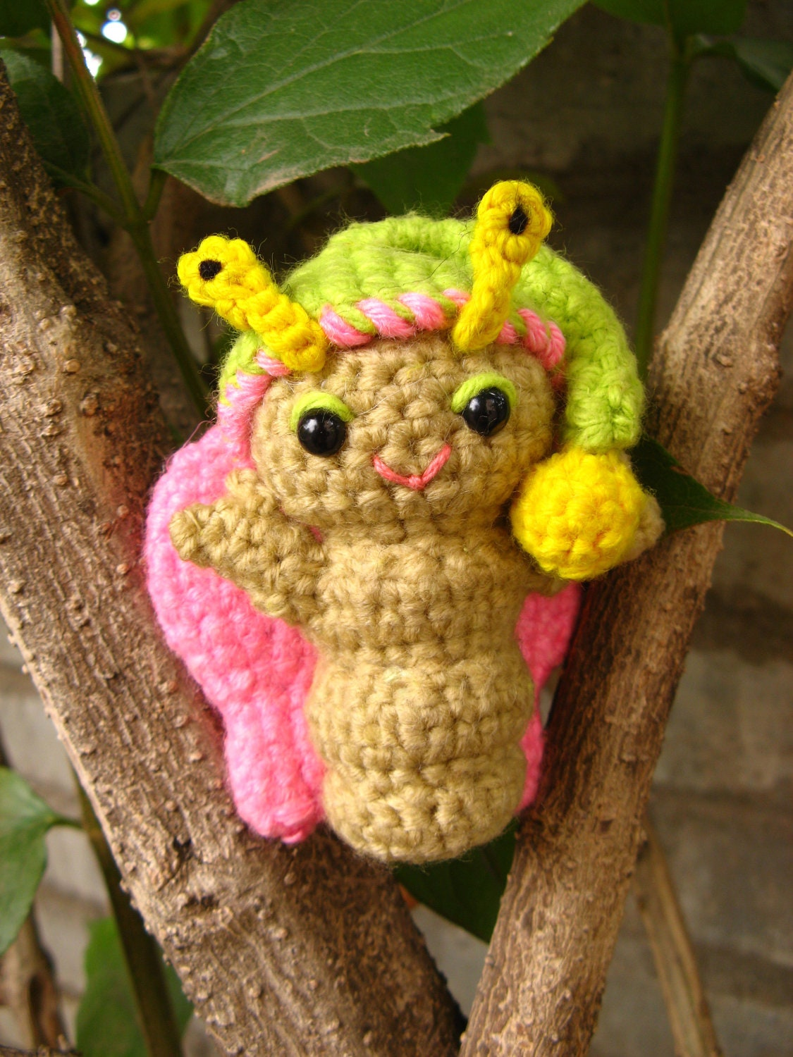 Amigurumi Stuffing : Amigurumi butterfly crochet pattern PDF childrens stuffed