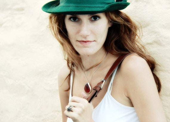 SALE 20% brazilian Carnelian Rouge Passion necklace