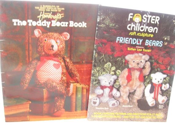 Teddy Bear Patterns and Instruction Books Craft Books