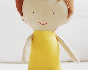 Doll Sewing Pattern Toy Cloth Boy Doll Pattern PDF - Boyd & Todd