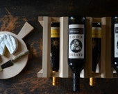 Classic maple wine rack - a great gift for the gourmet in your life