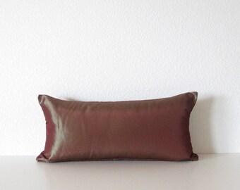 Pillow sale holographic burgundy 8x16  mini lumbar pillow cover