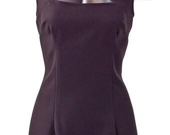 Black Peek-A-Boo Sheath Dress