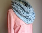 Oversized Scoody / Snood Ribbed Cowl / Ready to ship / Lower Price