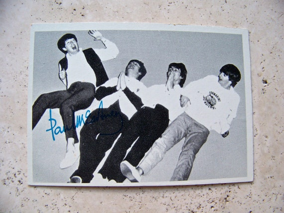 Vintage Beatles Trading Card 1960s