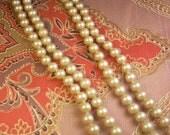 Vintage 1920's Faux Pearl Necklace