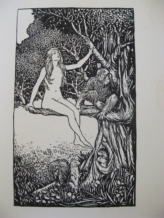 They All Do That... Original Mark Twain Banned Book Illustration