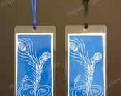 Feather Fount Bookmark - Dark Blue
