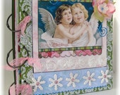 Christmas Scrapbook, Photo Album, Smash Book, Sweet Angels
