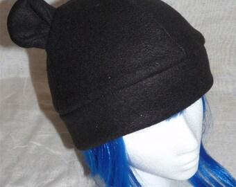 Black Bear Fleece Hat