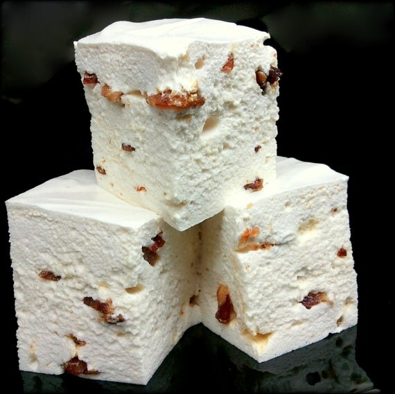 Maple Bacon Gourmet Marshmallows - Made Without Corn Syrup - 1 Dozen ...
