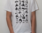 Rapper's delight - white t-shirt - limited edition screen print