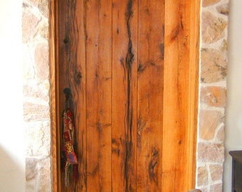Oak Interior Plank Style Arched Door Made to Order from Reclaimed Oak Barnwood & Arched door | Etsy Pezcame.Com