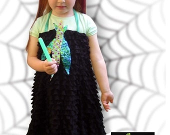 Fancy dress, Carnival, Halloween witch costume, Wich, Girl, Birthday, Christmas, Sizes 104to 116