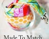 Made to Match -  Lanyard, Fabric Lanyard, Id Badge Holder, ID Badge Lanyard