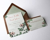 Custom Order - The Avery Collection - Wedding Invitations