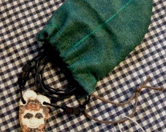 TrisLan - Fawn Necklace -Satyr - Totem - Guardian