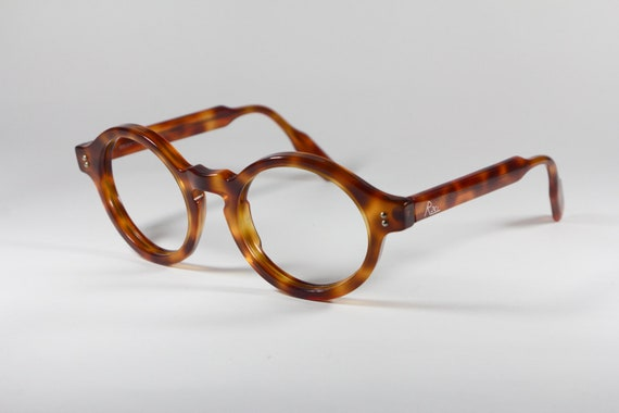 Frame Glasses Made In Italy : Round eyeglasses frame Made in Italy Vintage 80s by Equipe