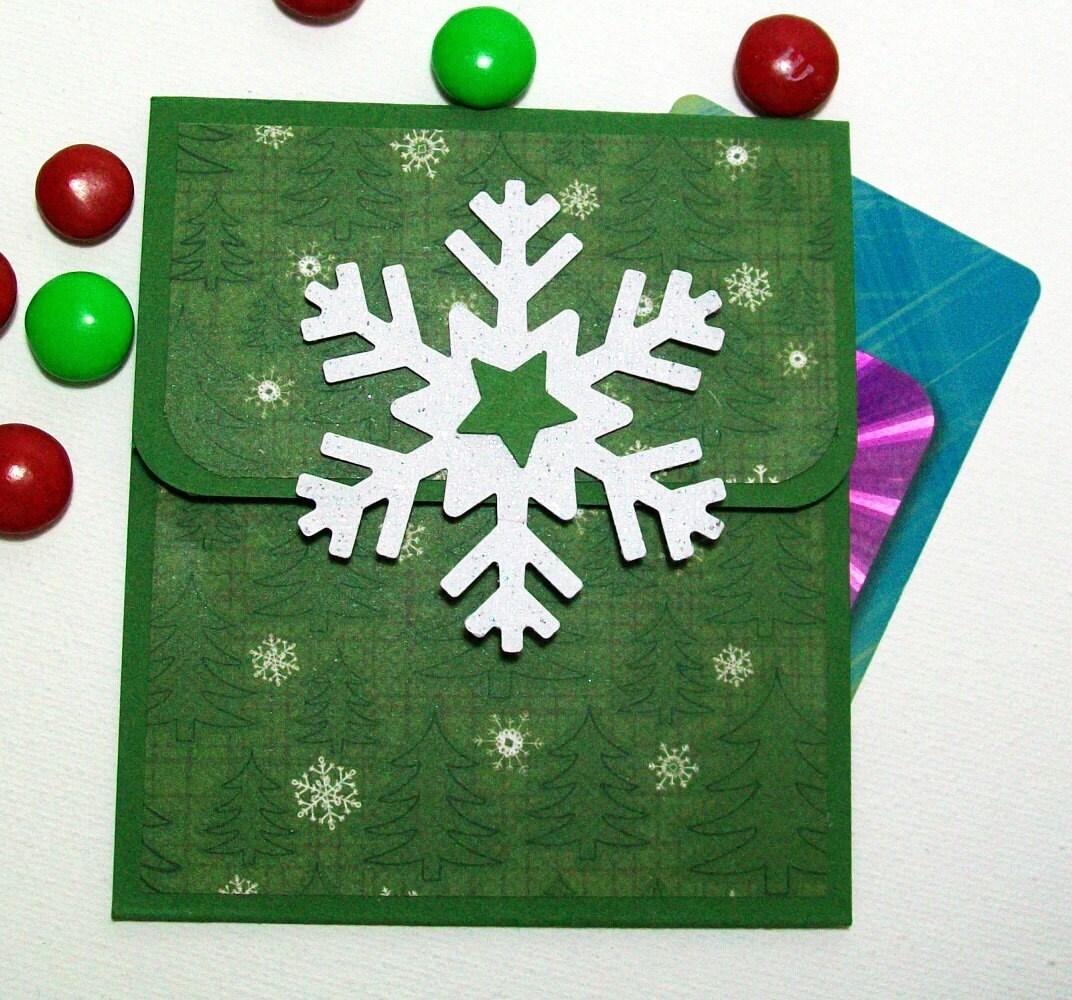Christmas Gift Card Holder Holiday Gift Card Holder