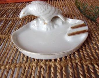 Eagle Ashtray, White Bird Ashtray, Trico Ashtray