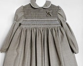 Cassandra Smocking Woolen Dress -  2 to 3 years