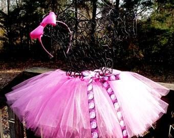 Pink Hello Kitty Tutu, Sizes 18 Months - 4T