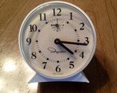 Vintage Ingraham wind-up alarm clock