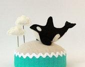 Flying Orca Pincushion