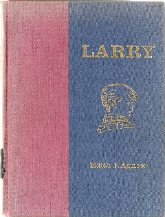 VINTAGE KIDS BOOK Larry