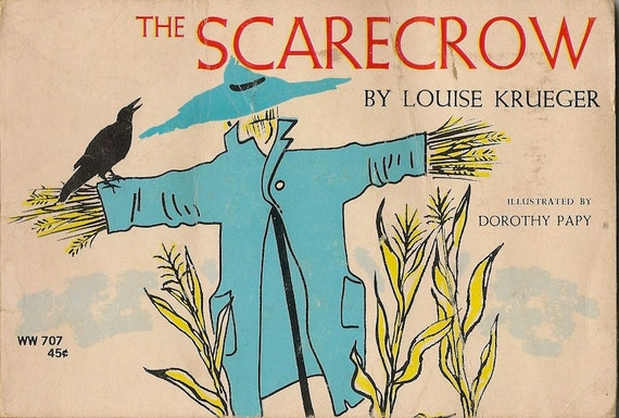 VINTAGE KIDS BOOK The Scarecrow