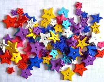 STAR buttons x100g