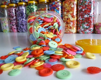 SUMMER BRIGHT buttons x100g