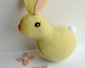TeenyTiny Bunny Softie (Lemon)
