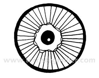 Thermofax Screen - Circle Motif 8