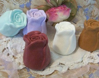 Rose Flower Roses Bud Silicone Soap Mold Candle Mold Handmade DIY Craft Molds Wedding Shower Favors Mothers Day DIY Craft