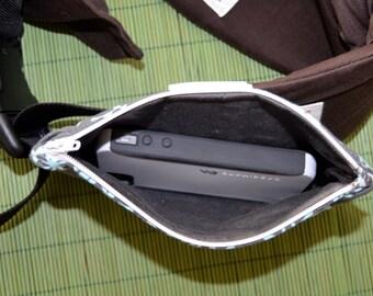Custom Waist Pouch for soft structured baby carrier - zipper waist wallet for ssc